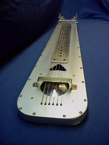 Fouke Mini Rez 1 lapsteel guitar