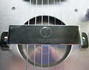 Upgrade your Fouke Guitar with a stainless handrest